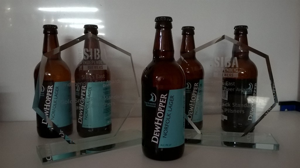 DewHopper retains its best lager award…
