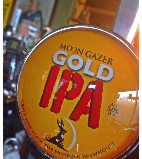 New craft Gold IPA from The Norfolk Brewhouse…